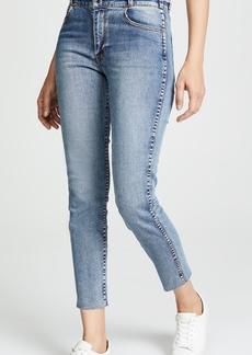 Hudson Jeans Hudson Vintage Holly Crop Skinny Jeans