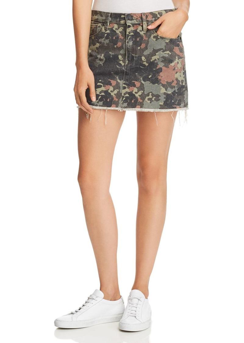 142125c85 Hudson Jeans Hudson Viper Denim Mini Skirt in Camo Now $131.25