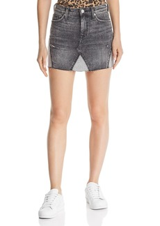 Hudson Jeans Hudson Viper Denim Mini Skirt in Old School