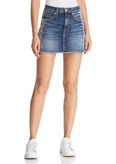 Hudson Jeans Hudson Viper Denim Mini Skirt in Rip Love