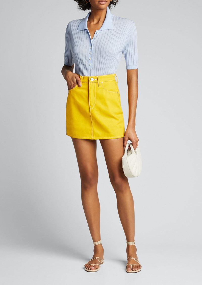 Hudson Jeans Hudson Viper Mini Skirt