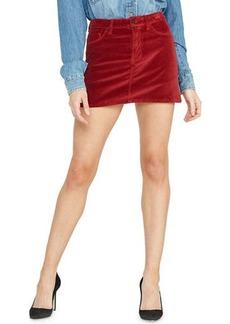 Hudson Jeans Hudson Viper Velvet Mini Skirt