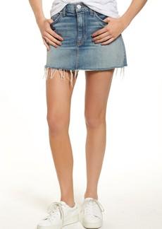 Hudson Vivid Cutoff Denim Skirt (Sunday Girl)