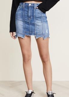 Hudson Jeans Hudson Weekender Step Hem Skirt