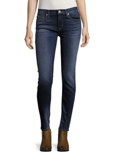 Hudson Whiskered Super Skinny-Fit Jeans