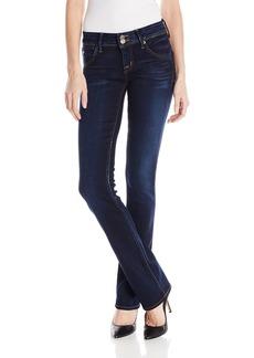 HUDSON Jeans Women's Beth Baby Bootcut Flap Pocket Elysian Denim Jeans