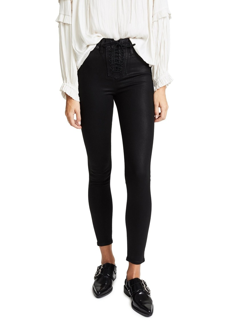 Hudson Jeans HUDSON Women's Bullocks High Rise Lace Up Jeans