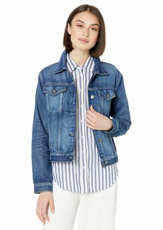 Hudson Jeans HUDSON Women's Classic Fitted Trucker Jacket  SM