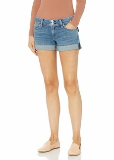 Hudson Jeans HUDSON Women's Croxley Mid Thigh Flap Pocket Jean Short