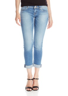 Hudson Jeans Women's Ginny Straight Ankle Crop With Cuff Flap Pocket Jean