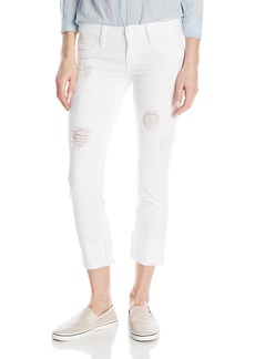 Hudson Jeans Women's Ginny Crop Straight With Cuff Flap Pocket Jean  25