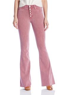 Hudson Jeans Women's Jodi High Waist Raw Hem Flare 5 Pocket Jeans