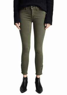 Hudson Jeans HUDSON Women's Nico Mid Rise Crop Super Skinny Jeans
