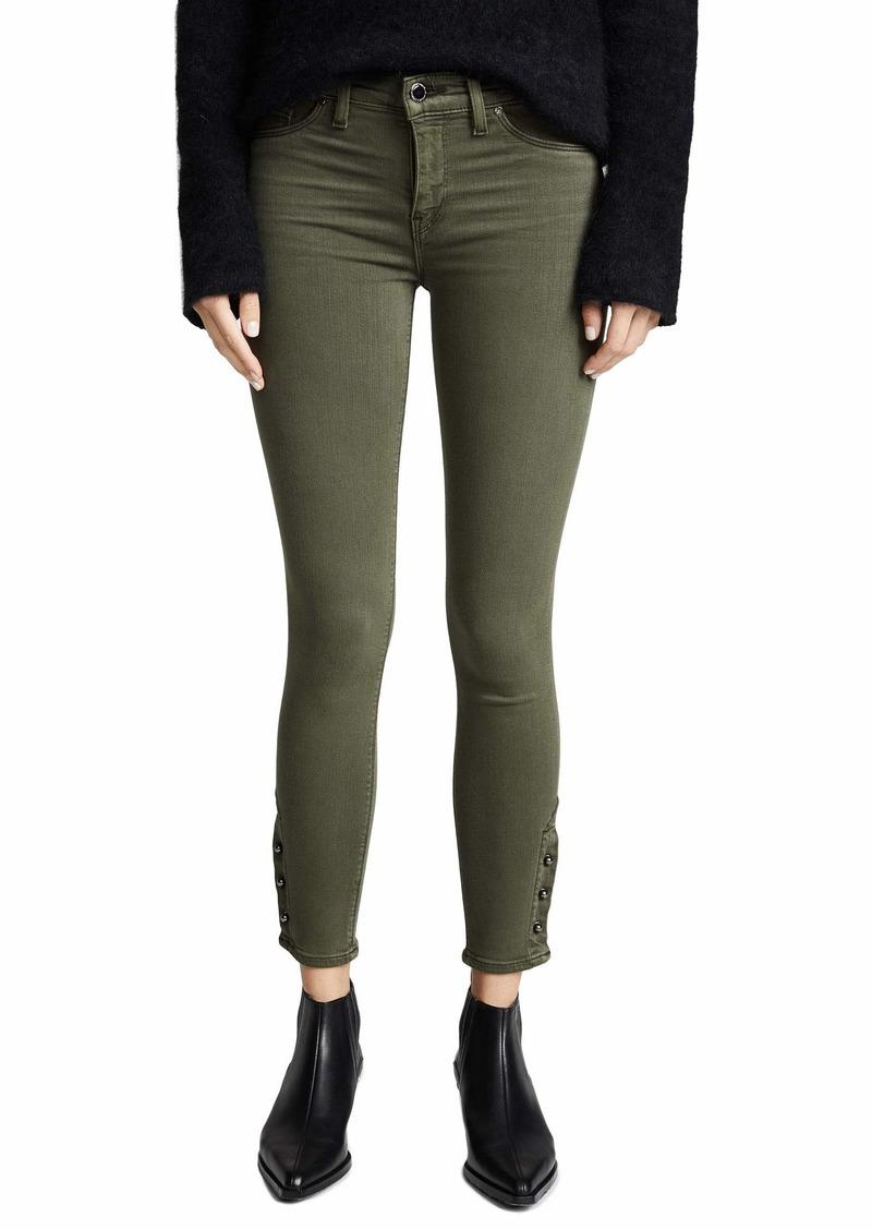 Hudson Jeans HUDSON Women's Nico Mid Rise Crop Super Skinny Jeans