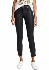 Hudson Jeans HUDSON Women's Nico Midrise Coated Crop Super Skinny Jeans