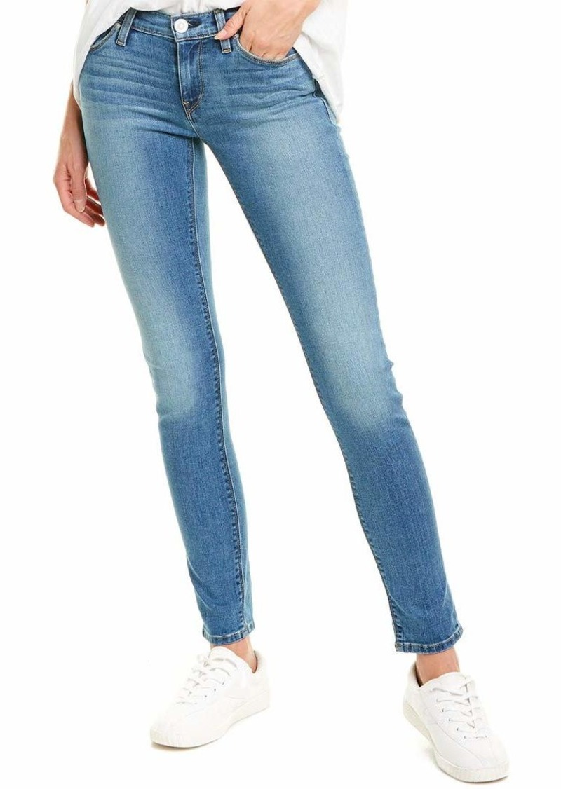 Hudson Jeans HUDSON Women's Tally Mid Rise Skinny Cropped Jean with A Cuffed Hem