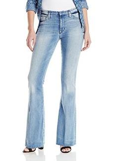 Hudson Women's Tyler Cutoff Waistband Flare Jean