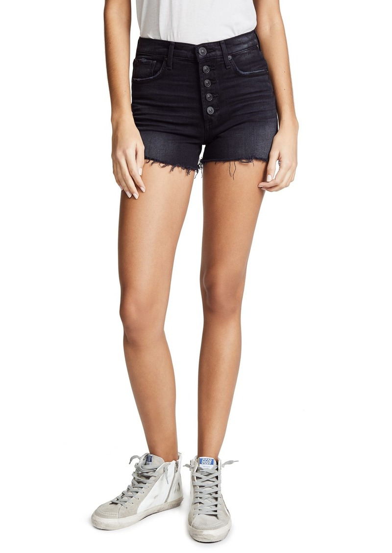 Hudson Jeans HUDSON Women's Zoeey High Rise Cutoff Shorts  Black