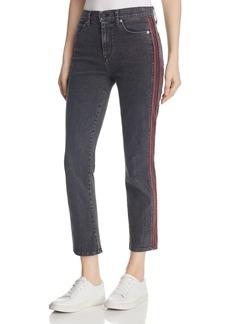 Hudson Zoeey Crop Straight Leg Jeans in Hone