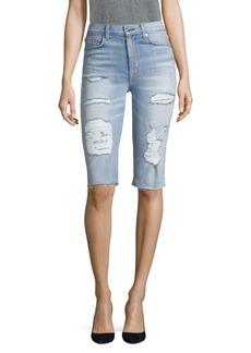 Hudson Jeans Zoeey Denim Bermuda Shorts