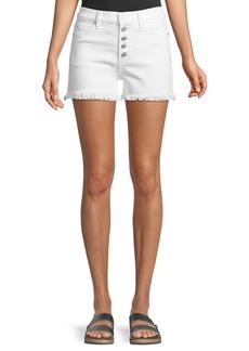 Hudson Jeans Zoeey High-Rise Cutoff Jean Shorts