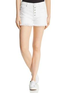 Hudson Zoeey High-Rise Denim Shorts in White