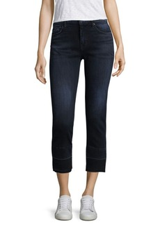Hudson Jeans Hudson Zoeey High Rise Straight Cropped Pants