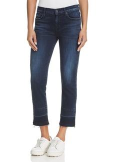Hudson Zoeey Released-Hem Crop Jeans in Ultra