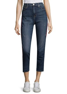 Hudson Zoey High Rise Straight Jeans