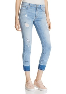 Hudson Zoey Skinny Crop Jeans in Side Hustle