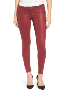 Hudson Jeans Coated Super Skinny Jeans