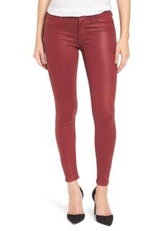 HudsonJeans Coated Super Skinny Jeans