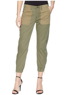 Hudson Jeans Jaclyn Flight Pants in Olive Remix