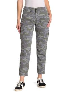 Hudson Jeans Jane Slim Camo Print Cargo Pants