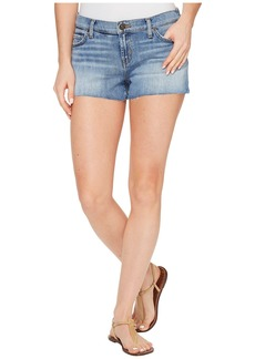Hudson Jeans Kenzie Cut Off Five-Pocket Shorts in Defy