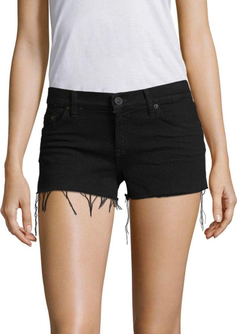 Hudson Jeans Kenzie Distressed Denim Shorts