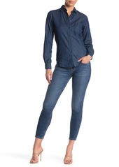 Hudson Jeans Krista Cropped Skinny Jeans