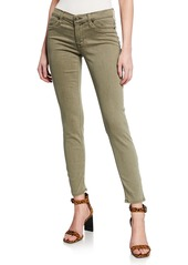 Hudson Jeans Krista Distressed Ankle Skinny Jeans