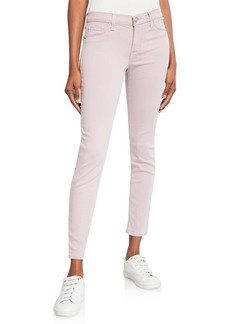 Hudson Jeans Krista Distressed Ankle Skinny Jeans