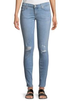 Hudson Jeans Krista Distressed Skinny Ankle Jeans