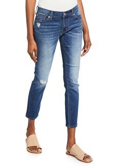 Hudson Jeans Krista Distressed Super Skinny Jeans