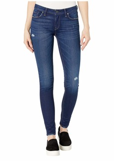 Hudson Jeans Krista Mid-Rise Super Skinny in Cross Out