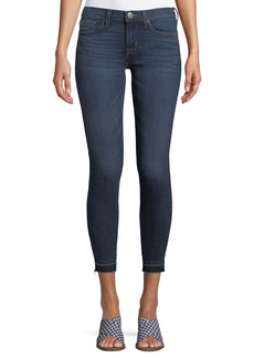 Hudson Jeans Krista Raw-Hem Skinny Jeans