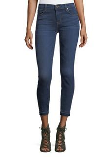 Krista Raw-Hem Skinny Jeans