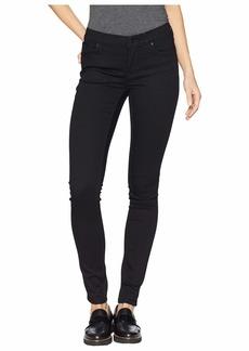 Hudson Jeans Krista Super Skinny Jeans in Black