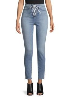 Hudson Jeans Lace-Up Jeans