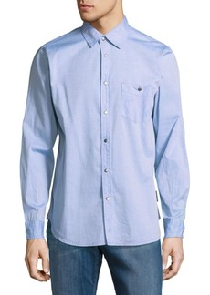 Hudson Jeans Leeward Cotton Casual Button-Down Shirt