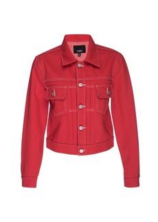 Hudson Jeans Lola Shrunken Denim Trucker Jacket
