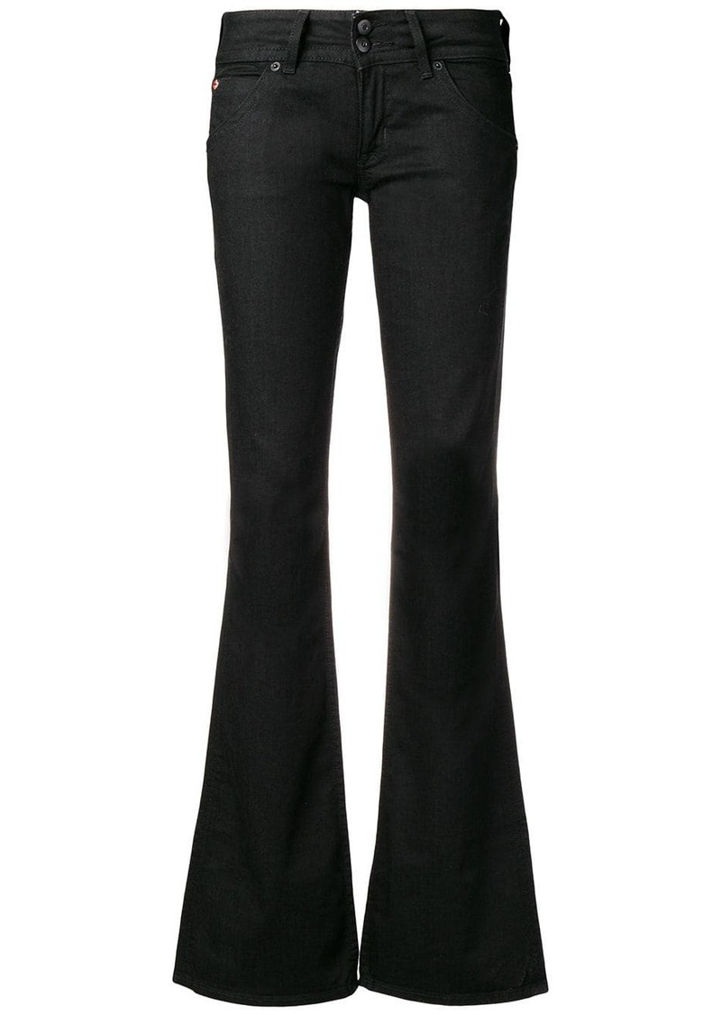 Hudson Jeans low rise flared jeans