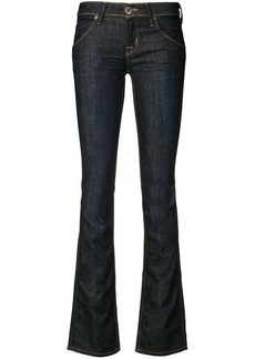 Hudson Jeans low rise slim fit jeans